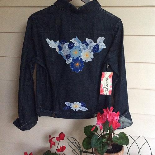 Denim Jacket Embellished CR