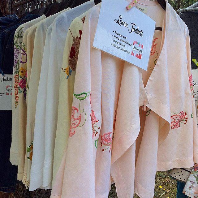 Waterfall Linen Jackets