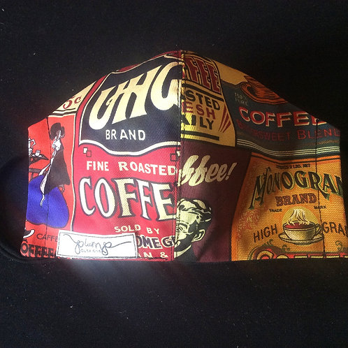Facemask -Coffee