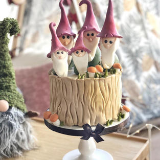 A special cake for a magical ...