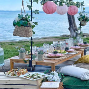 Let's have a picnic by the lake!!