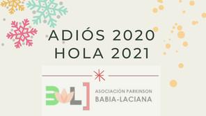 ADIÓS 2020, HOLA 2021