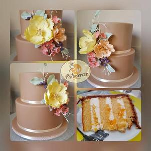 layer cake orange