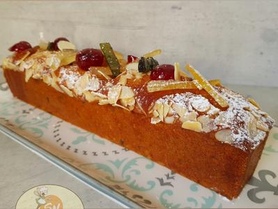Cake aux fruits confits / Candied Fruit Cake
