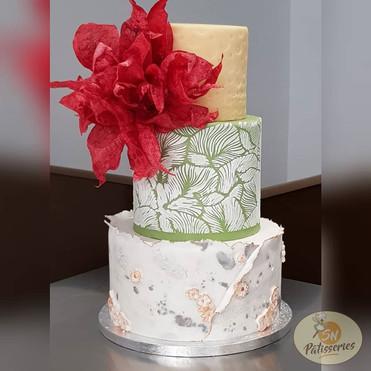 Wedding cake 3 parfums