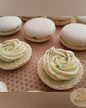 Macarons menthe