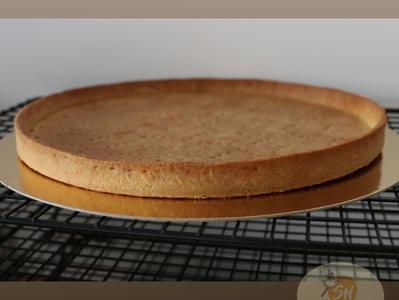Pâte à tarte sucrée (par sablage)