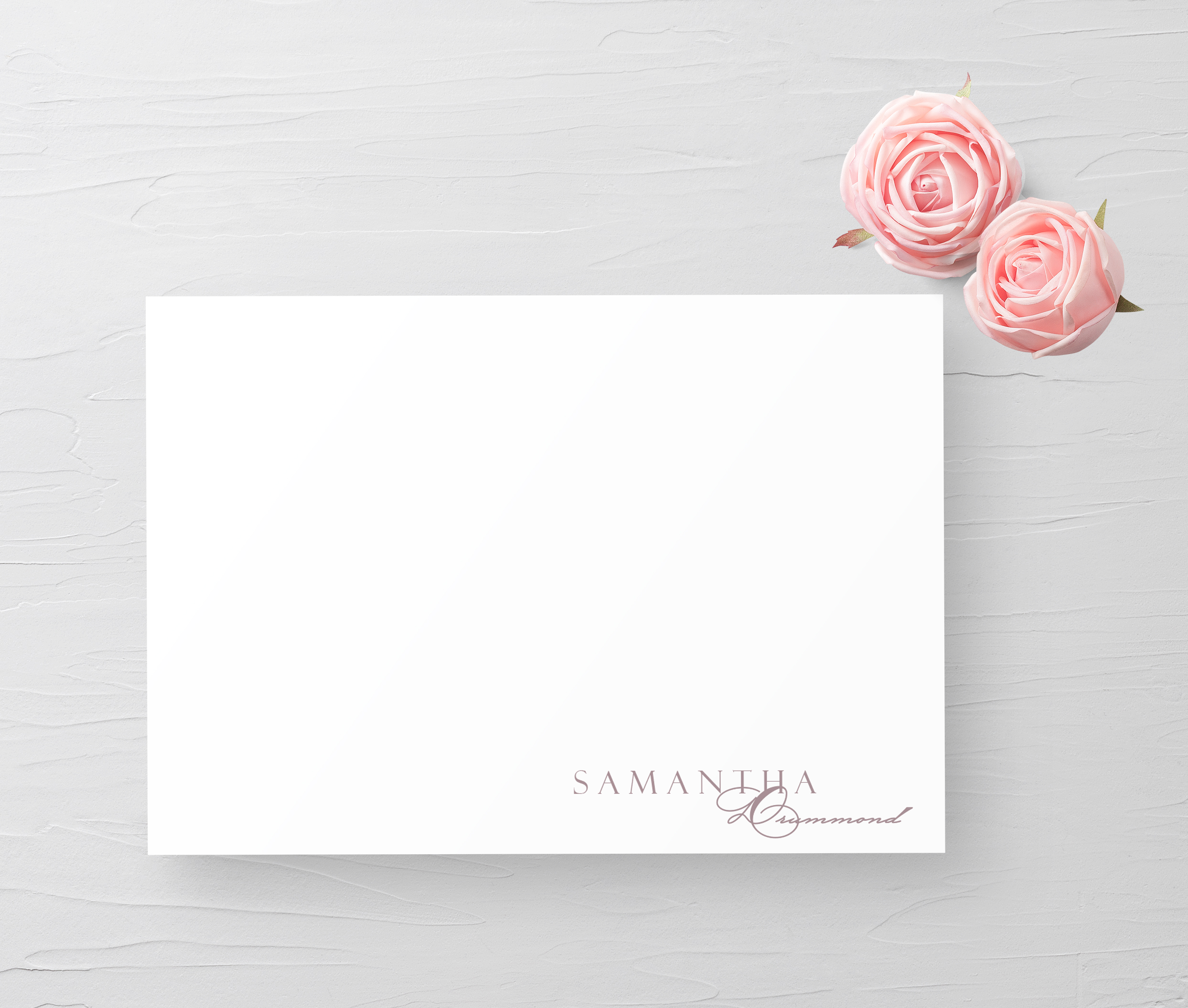 Personlaized Stationery