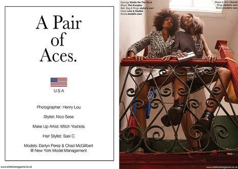 A Pair of Aces by Henry Lou - Solstice Magazine