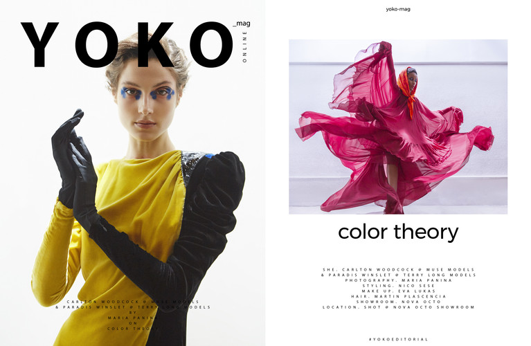 Color Theory by Maria Panina - Yoko Magazine