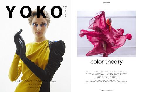 Color Theory by Maria Panina - Yoko Magazine