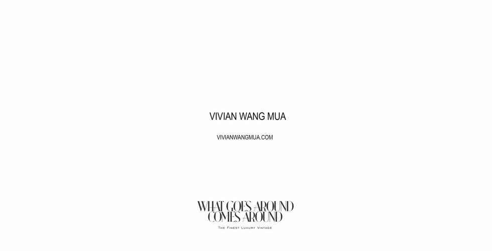 What Goes Around Comes Around Advertorial F/W 2018 by Maria Panina