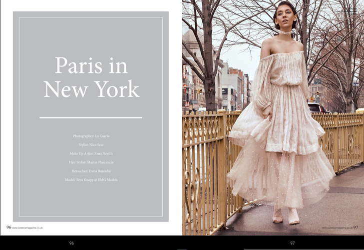 Paris in New York by Lo Garcia - Solstice Magazine