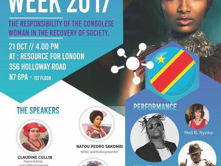 Le week-end passé, c'est à Londres que nous étionsafin departiciper et soutenir la Congo Week. Thi