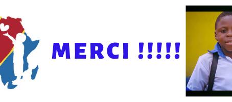 MERCI À TOUS !!!!