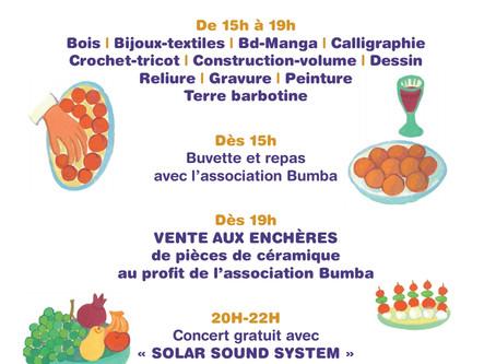 L'Association Bumba participe à la fête des 25 ans des Créateliers
