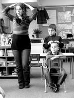 Massage à l'école ou en famille