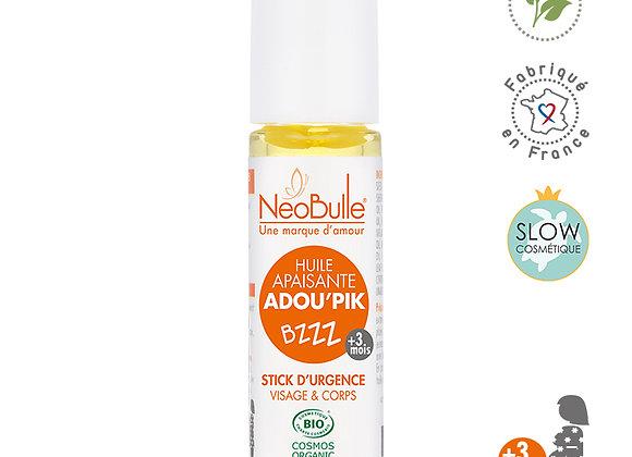 Huile Apaisante Adou'pik, stick d'urgence - Neobulle