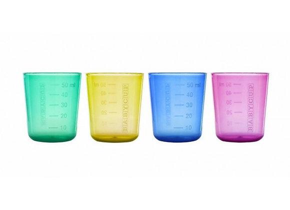 1ère Tasse - lot de 4 - Multicolore - BABYCUP