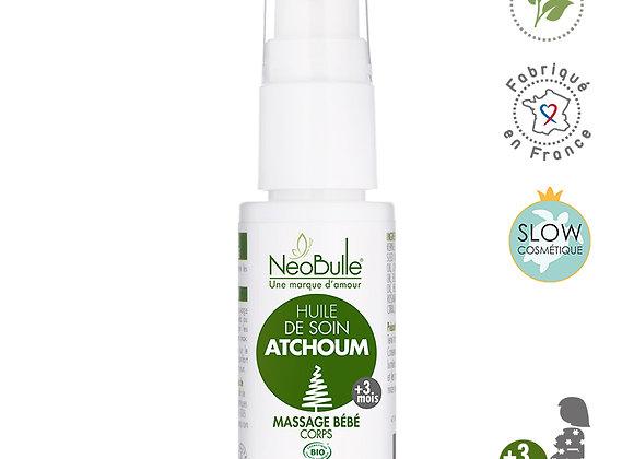 Huile de Soin Atchoum, huile de soin bébé - Neobulle