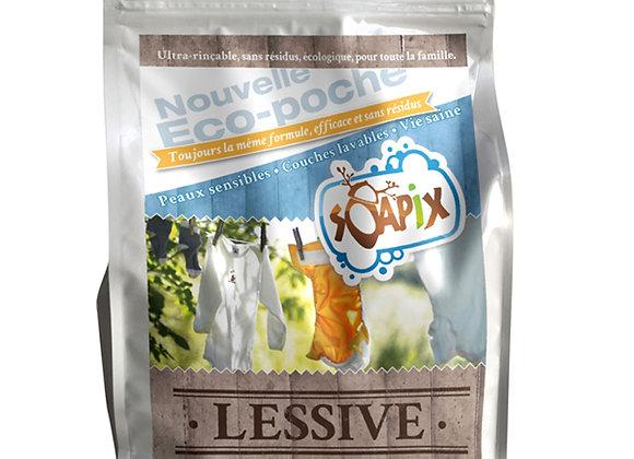 Lessive en poudre Eco-poche - 180 doses - Soapix