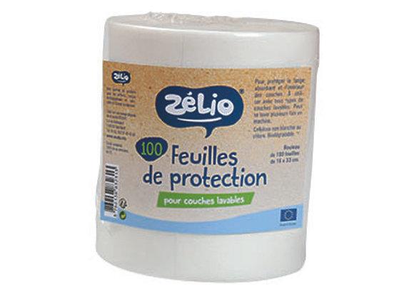 Feuilles de protection - rouleau de 100 feuilles -Zélio