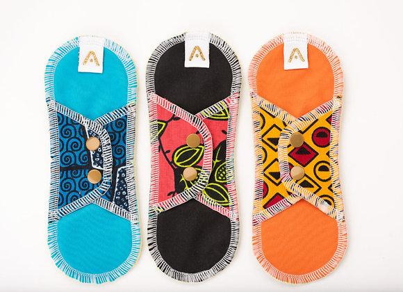 Kit 3 protèges slips lavables - Apiafrique