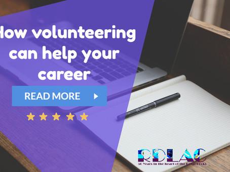 How volunteering can help your career