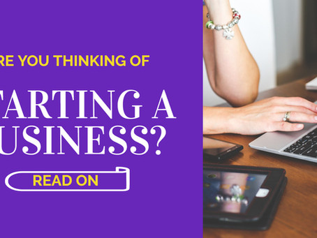 Thinking of Starting a Business??