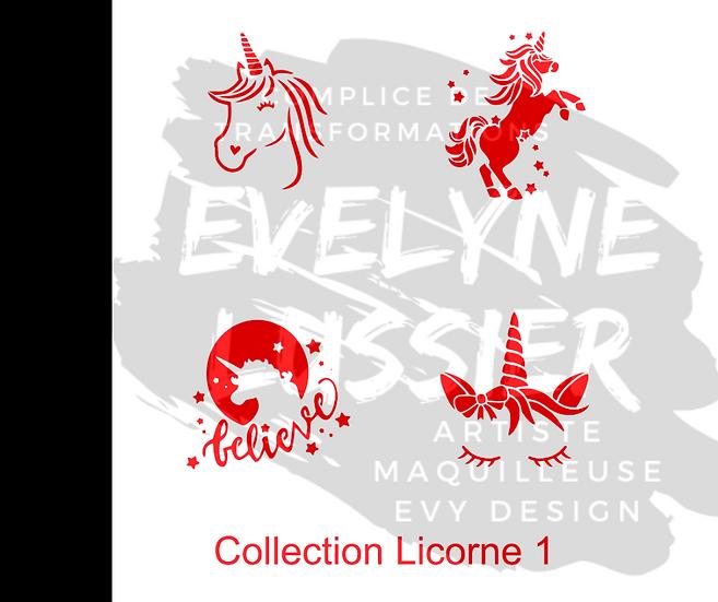 Collection Licorne 1