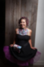 Evelyne Lussier artiste maquilleuse Evy