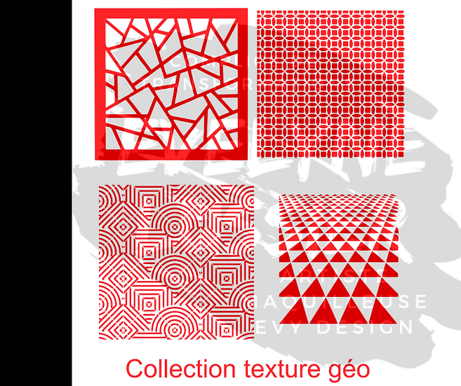 Collection texture Géo
