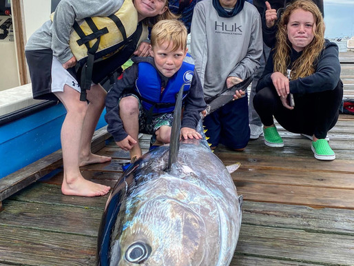 Kids Camp 2021 (And A Tuna From Last Year)
