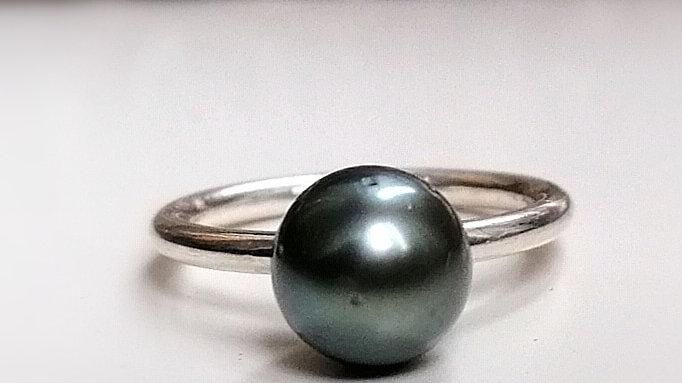 "Ring ""Letho"" mit Tahitiperle"