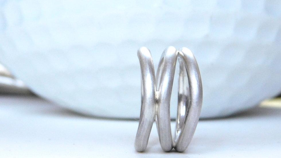"Ring ""Onda"" aus Silber"
