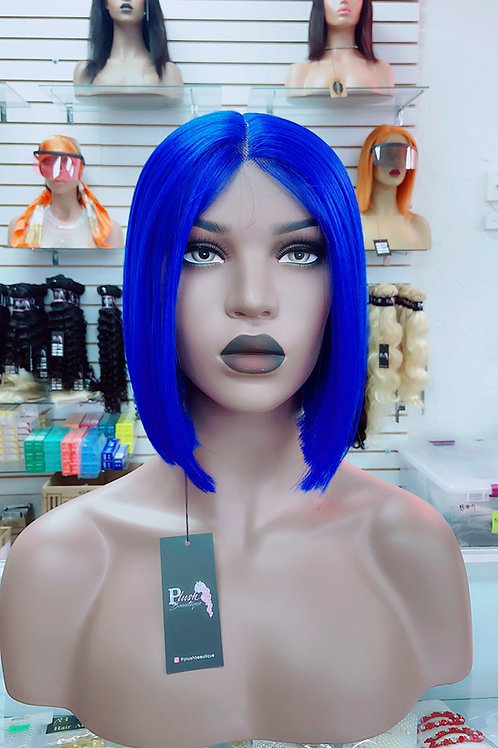 """ELECTRICA~ Lace Wig 10""""Long Lace Wigs Pre-Tinted Custom Lace Front Wig Heat OK"""