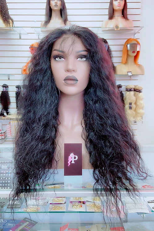 """HARPER~ Front Lace Wig 30"""" Medium Front Lace Wigs Pre-Tinted Custom Lace Front W"""