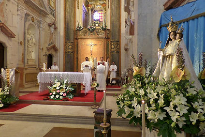 interior igreja penha de frança