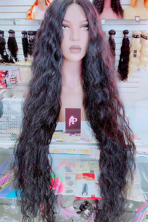 """PENELOPE  ~ Front Lace Wig 22"""" Long Front Lace Wigs Pre-Tinted Custom Lace Front"""