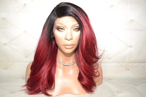 "LEVA -16"" Lace Front Wig"