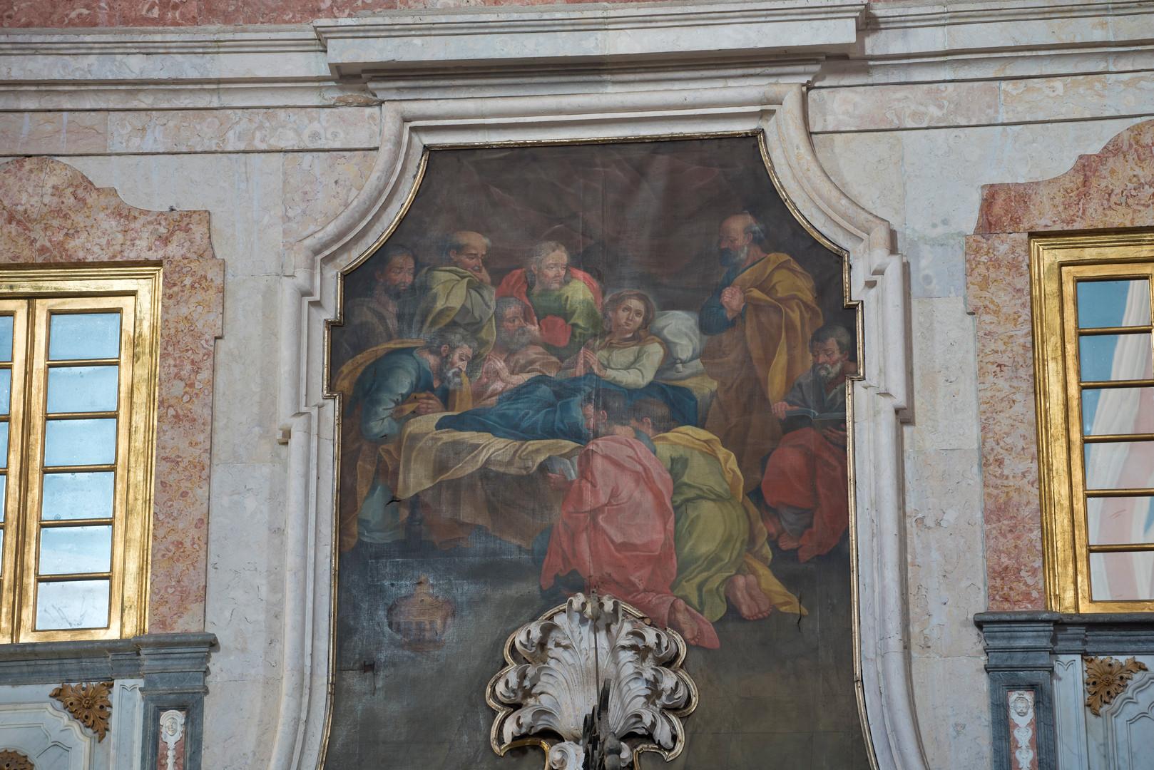 pintura igreja penha de frança