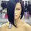 """Thumbnail: TORI ~ Front Lace Wig 10"""" Short Front Lace Wigs Pre-Tinted Custom Lace Front Wig"""