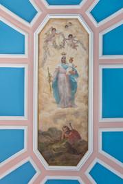tecto nossa senhora igreja penha de frança