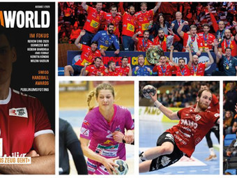 Handballworld 1/2020 ist erschienen
