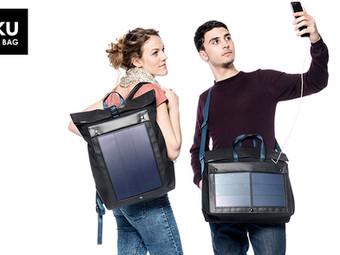 Lernende der UNITED school of sports  entwickeln und vertreiben Solar-Taschen