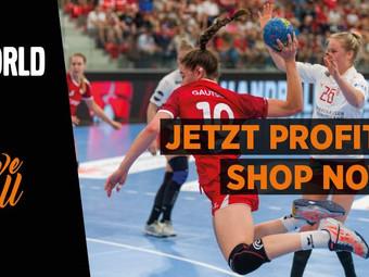 Handballworld E-Shop mit Asics
