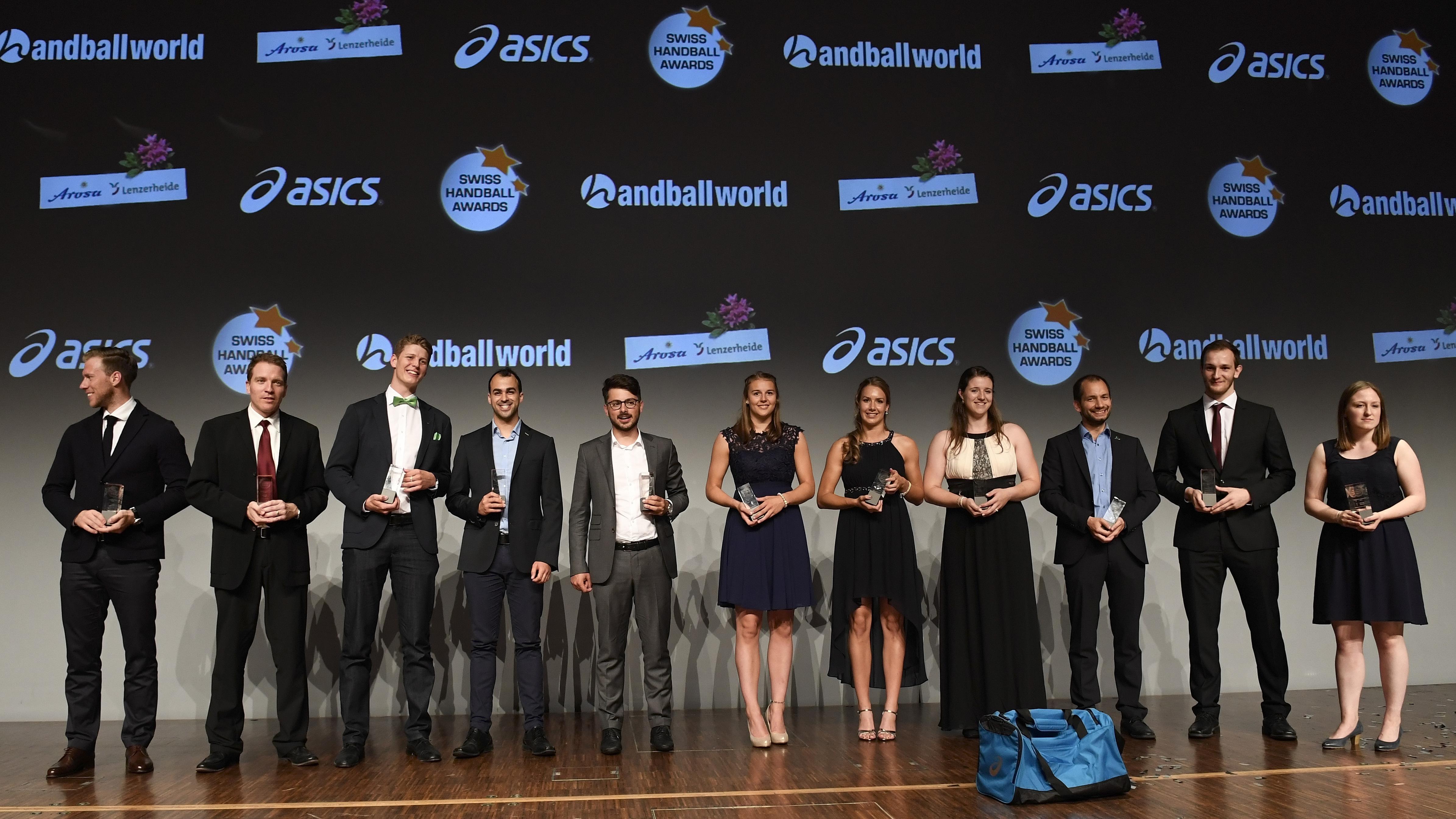 Award-Gewinner der 6. Swiss Handball