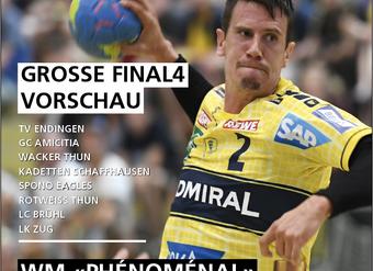 Grosse Final4 Vorschau im Handballworld E-Paper