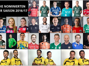 Die Nominierten der Swiss Handball Awards 2017