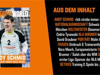 Handballworld - Neue Ausgabe ist da!